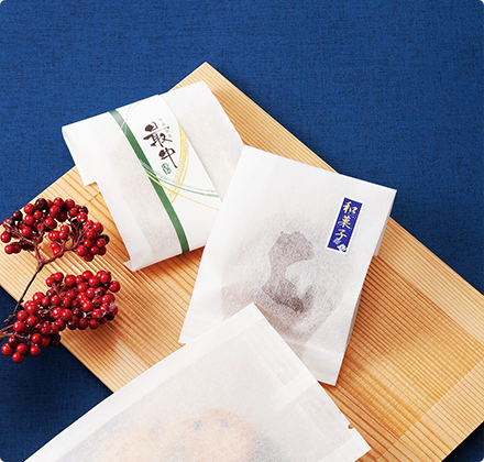 和菓子の包材